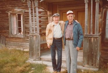Jens Olovsson i Linsell 1983 1